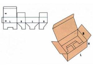 Geslotte kartonnen dozen